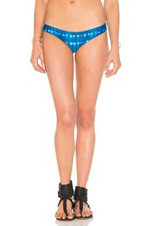 Rvca Tied Down Cheeky Bottom Blue