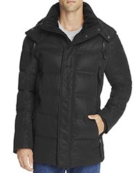 Andrew Marc New York Polar Down Parka Jet Black