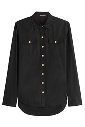 Balmain Cotton Blouse Black