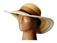 San Diego Hat Company Pbl3071 Striped Sun Brim Hat Mixed Natural Caps Yellow