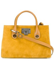 Jimmy Choo 'Riley' Tote Yellow And Orange