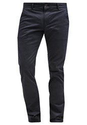 Farah Elm Chinos True Navy Dark Blue