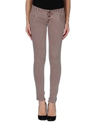 Please Casual Pants Light Brown
