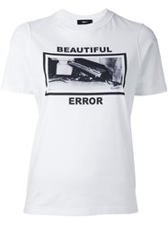 Yang Li 'Beautiful Error' T Shirt White
