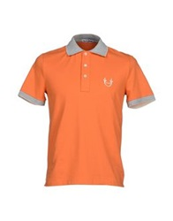 Cesare Paciotti 4Us Polo Shirts Orange