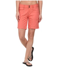 Royal Robbins Kick It Short Persimmon Women's Shorts Orange