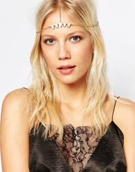 Aldo Perkel Headband Gold