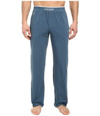 Lacoste Solid Pants Indian Teal Men's Pajama Green