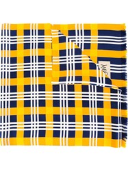 Yves Saint Laurent Vintage Checked Scarf Multicolour