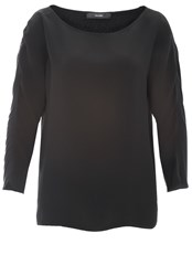 Hallhuber Mix And Match Top Black