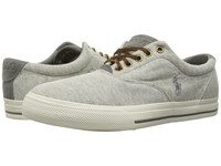 Polo Ralph Lauren Vaughn Light Grey Heather Sweatshirt Fleece Men's Lace Up Casual Shoes Gray
