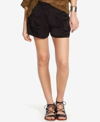 Denim And Supply Ralph Lauren Buttoned Pocket Shorts Polo Black