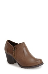 Naturalizer 'Trust' Bootie Women Taupe Faux Leather