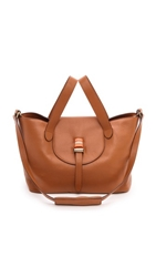 Meli Melo Thela Medium Handbag Tan