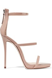 Giuseppe Zanotti Harmony Patent Leather Sandals Blush
