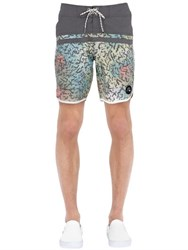 Quiksilver Stomp Cracked Scallop 18 Boardshorts