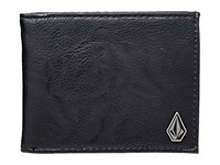 Volcom Slim Stone Black Wallet Handbags