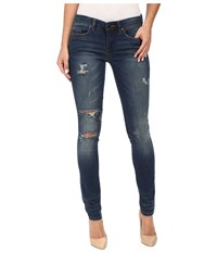 Blank Nyc Denim Distressed Skinny In Insta Girl Blue Women's Jeans