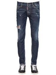 Dsquared 16.5Cm Cool Guy Sid Stretch Denim Jeans