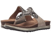 Dansko Pamela Taupe Jewelled Women's Sandals