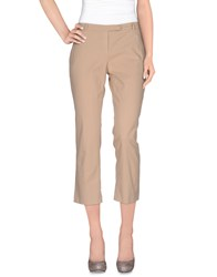 Douuod Trousers Casual Trousers Women Beige