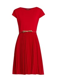 Max Mara Ala Dress Red