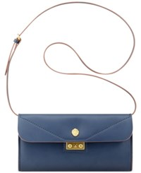Anne Klein Audrey Crossbody Clutch Navy