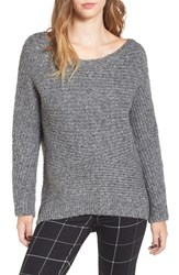 Astr Women's Rib Knit Sweater