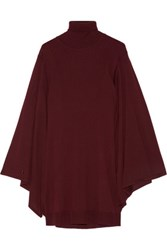 Emilio Pucci Wool Turtleneck Sweater Burgundy