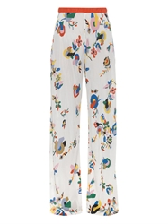 Missoni Mare Flower Print Jersey Trousers