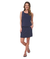 Carve Designs Meadow Dress Anchor Coastal Women's Dress Blue