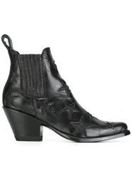 Mexicana 'Circus' Ankle Boots Black