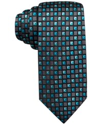 Alfani Spectrum Jasper Neat Slim Tie. Only At Macy's Aqua