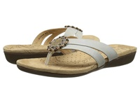Acorn Samoset Thong Oyster Women's Shoes Beige