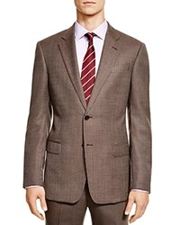 Armani Collezioni Wool Classic Fit Sport Coat Brown