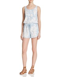 Bella Dahl Sporty Painter's Chambray Romper Painters Wash