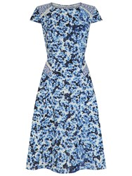 Fenn Wright Manson Gaugin Dress Blue