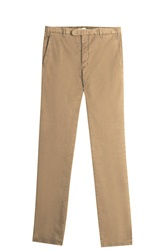 Boglioli Dyed Chino Trousers Beige