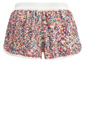 Glamorous Shorts Rainbow Multicoloured