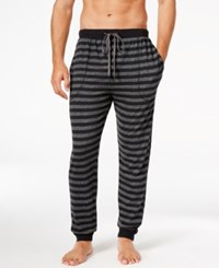 Kenneth Cole Reaction Men's Striped Pajama Pants Grey