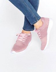 Missguided Lace Up Sneaker Pink