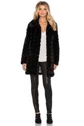 Unreal Fur Furever Coat Black