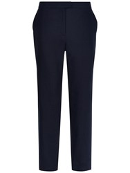 Jaeger Linen 7 8 Chino Trousers Navy