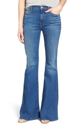 Women's Mother 'The Super Cruiser' High Rise Flare Jeans Blue Moon