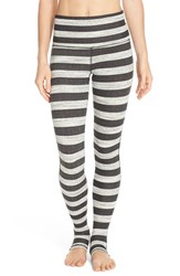 Women's Free People 'Namaste' Stripe Stirrup Leggings