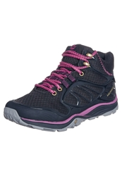 Merrell Verterra Mid Sport Goretex Walking Boots Black Rose