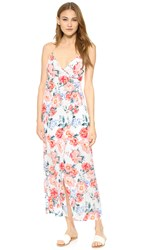 Minkpink Little Blooms Maxi Wrap Dress Multi