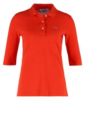 Lacoste Polo Shirt Red