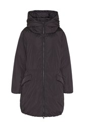 Hallhuber Oversized Down Parka Black