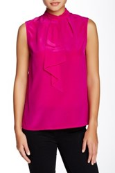 Ted Baker Syna Sleeveless Silk Blouse Pink